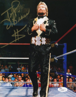 """Ted DiBiase Signed WWE 8x10 Photo Inscribed """"$"""" (JSA COA) at PristineAuction.com"""
