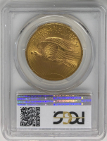 1907 $20 Saint-Gaudens Double Eagle Gold Coin (PCGS MS 63) at PristineAuction.com