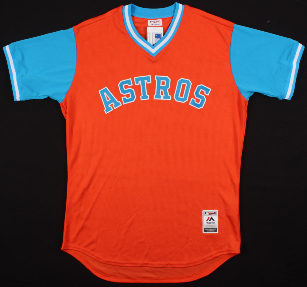 9762530af0d Carlos Correa Signed Astros Players Weekend Jersey (Correa Hologram)