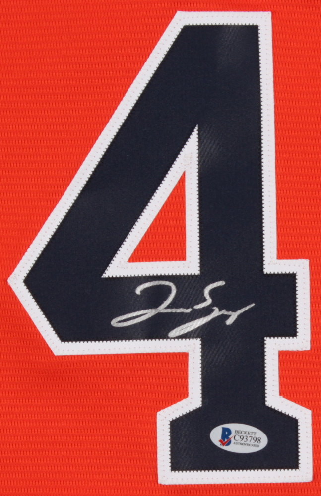 911aa4878e2 George Springer Signed Astros 2017 World Series Jersey (Beckett COA) at  PristineAuction.com