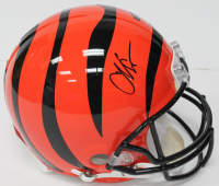 Chad Johnson Signed Bengals Authentic On-Field Full Size Helmet (Beckett COA)