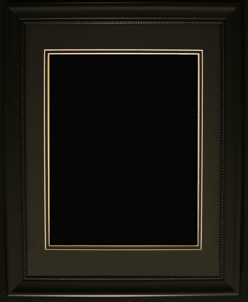 black frame. At PristineAuction.com Black Frame