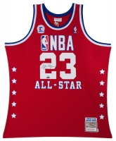Michael Jordan Signed 1989 All-Star Game Mitchell & Ness Authentic Throwback Jersey (UDA COA) at PristineAuction.com