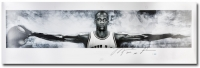 "Michael Jordan Signed Limited Edition 72"" x 23"" Wings Poster Inscribed ""2009 HOF"" (UDA COA) at PristineAuction.com"