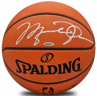 Michael Jordan Signed Spalding Official NBA Game Ball (UDA COA) at PristineAuction.com